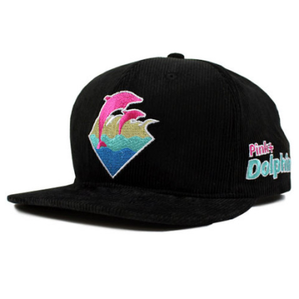 pink dolphin black cord