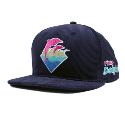 pink dolphin blue cord