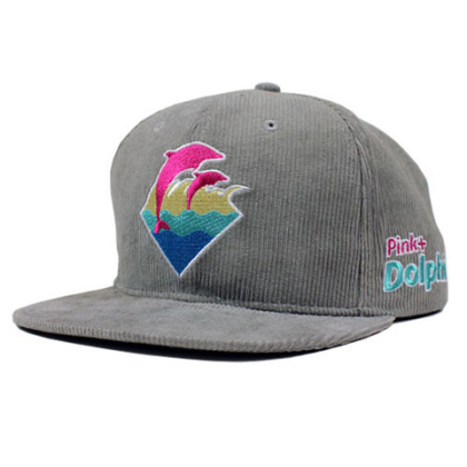 pink dolphin grey cord