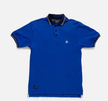 bad man polo blue