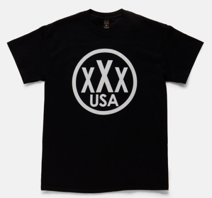 core triple x tee black