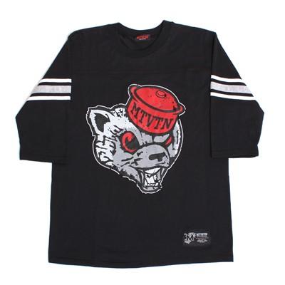 mascot black football jersey