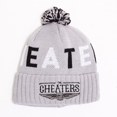 motivation cheaters beanie