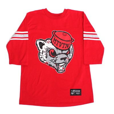 motivation mascot red tee