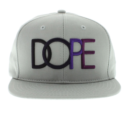 dope purple multi color