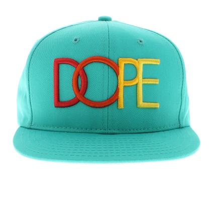 dope teal snapback