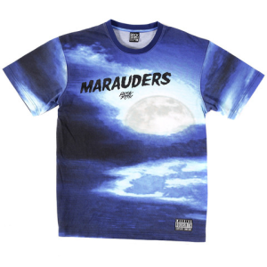 midnight maraders tee blue