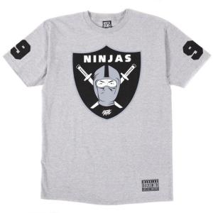 ninjas tee grey
