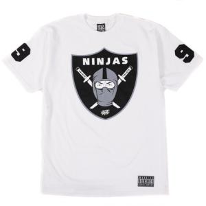 ninjas tee white