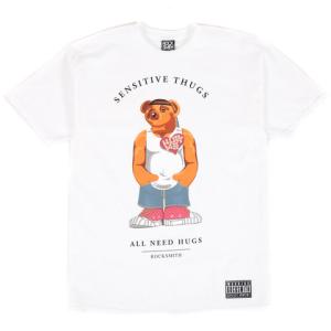 thug bear white