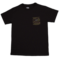 wu pocket tee black