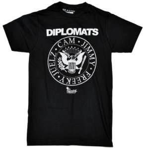 diplomats tee black