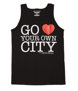 go love your own city tank black