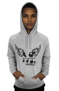 mad endz hoodie grey