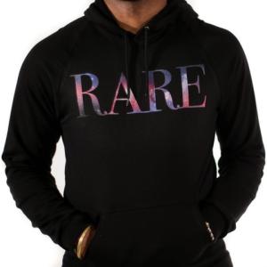 rare hoodie black