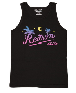 reason beach logo tank