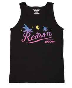 reason beach logo tank