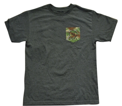 Tiger Camo Skull Pocket Tee
