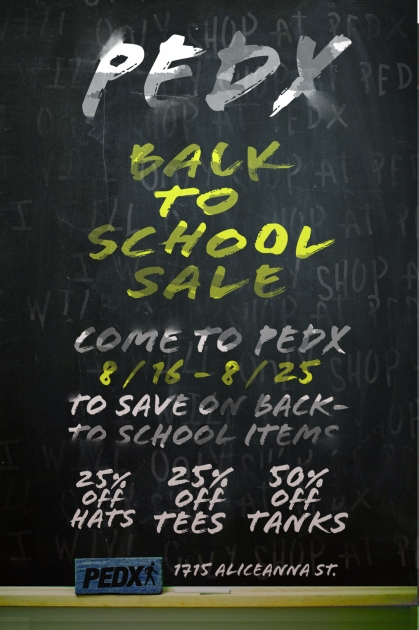 pedx back to school