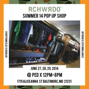 rich weirdo pop up summer 14