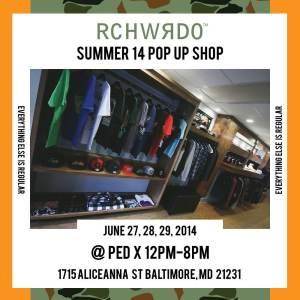 rich weirdo pop up summer 14